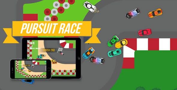 Pursuit Race - HTML5 Game