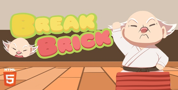 Break The Brick - HTML5 Game - CodeCanyon Item for Sale