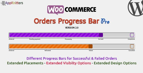 WooCommerce Orders Progress Bar - Pro