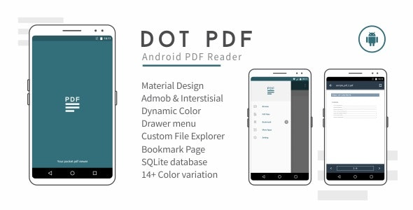 dot PDF - Android PDF Reader 2.3 - CodeCanyon Item for Sale
