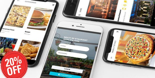 IONIC 5 FIREBASE MULTI RESTAURANT APP with ANGULAR 7 + FIREBASE SUPERADMIN WEB BACKEND