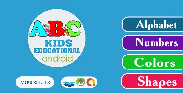 Kids ABC - Kids learning educational android app - CodeCanyon Item for Sale