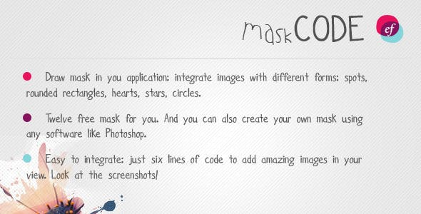 Mask Code - resource for iPhone / iPad