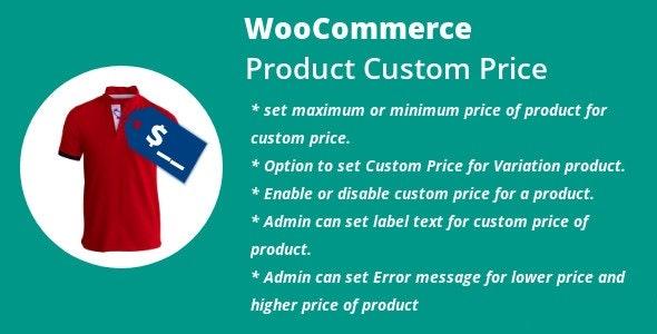 WordPress WooCommerce Product Custom Price - CodeCanyon Item for Sale