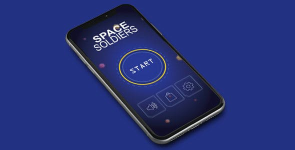 SPACE SOLDIEAR WITH ADMOB - IOS XCODE FILE