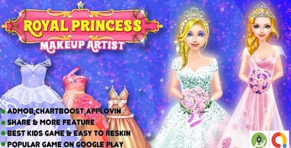 Royal Girl Wedding Fashion + Android Studio + Admob