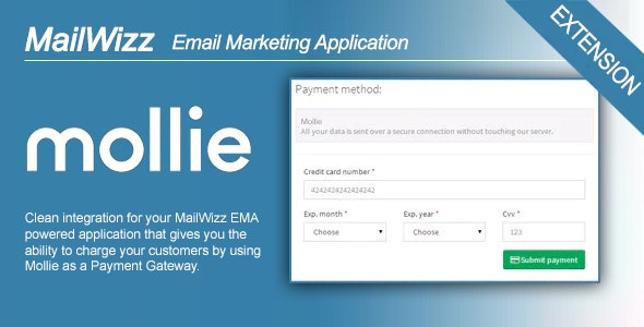 MailWizz EMA integration with Mollie Payment Gateway for Subscriptions - CodeCanyon Item for Sale