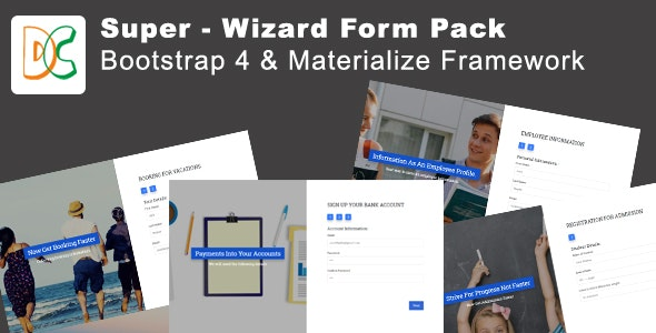 Super - Wizard Form Google Spreadsheets Based - CodeCanyon Item for Sale