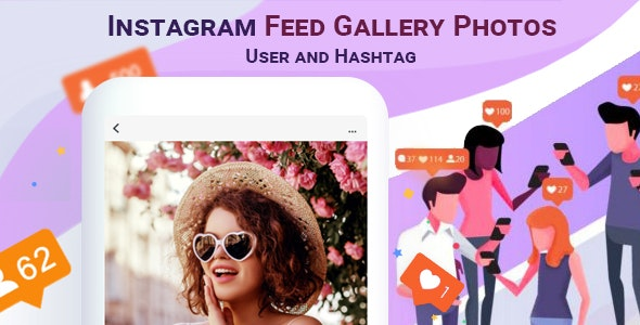 Instagram Feed Gallery Photos User and Hashtag - CodeCanyon Item for Sale