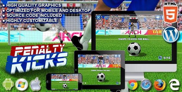 Penalty Kicks - HTML5 Sport Game