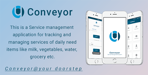 Conveyor - Android  Service Management App - CodeCanyon Item for Sale