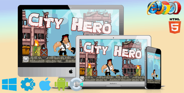 City Hero - CodeCanyon Item for Sale