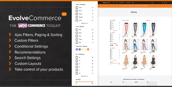 Evolve Commerce - The WooCommerce Toolkit