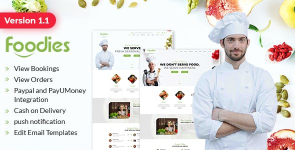 Foodiee - Online Food Ordering Web Application