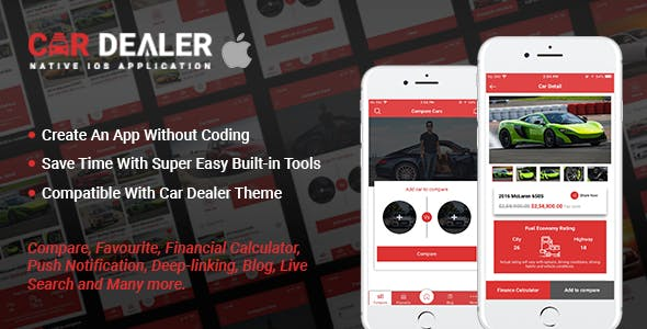 Car Dealer Native iOS Application - Swift
