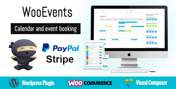 WooEvents -  Calendar and Event Booking        Nulled