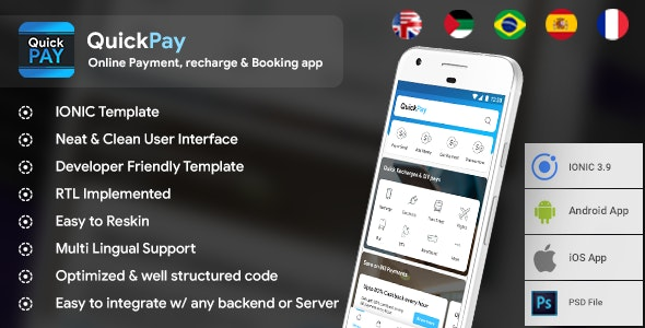 Online Payment, Recharge, Booking & Bill Payment Android +