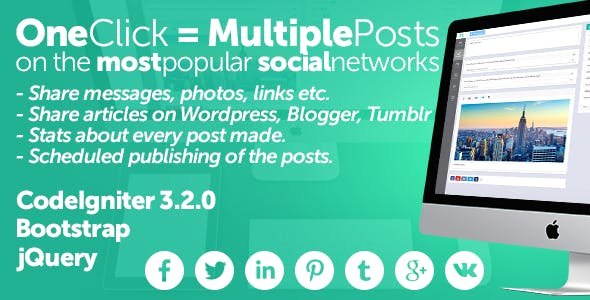 Midrub - schedule and publish on the most popular social networks        Nulled