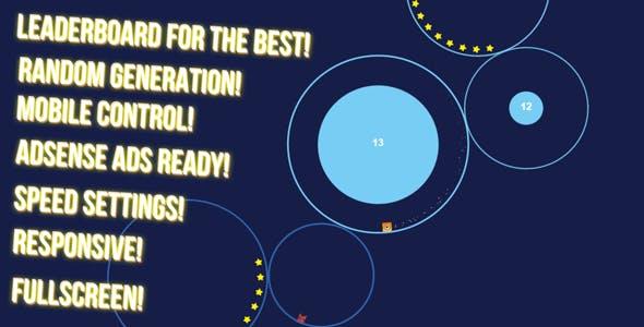 CircleRun - HTML5 game, mobile contr., AdSense, leaderboard