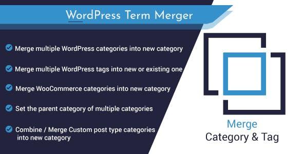 Merge Multiple Categories or Tags in WordPress and WooCommerce : Term Management Tool