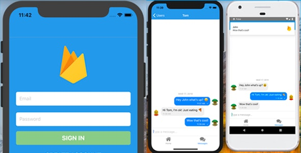 React Native Redux Firebase Chat - CodeCanyon Item for Sale