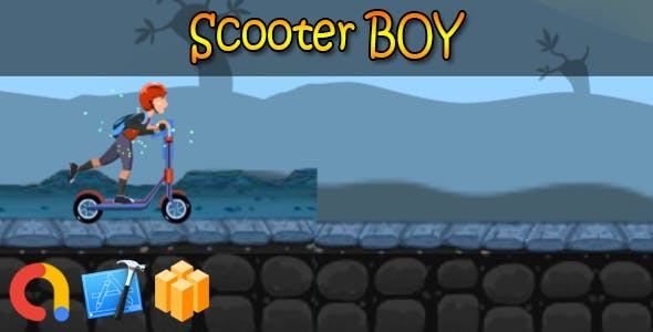 Kettler Scooter boy - iOS Xcode 10 + Buildbox Template + Admob