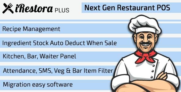 iRestora PLUS - Next Gen Restaurant POS