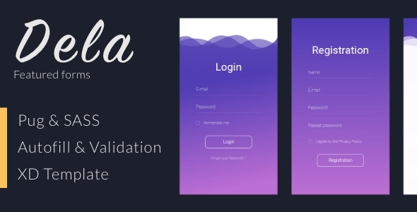 Dela - Featured Forms Collection - CodeCanyon Item for Sale