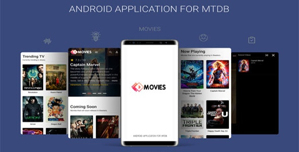 Android Application For MTDB - Ultimate Movie&TV Database - CodeCanyon Item for Sale