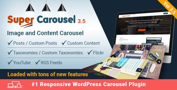 Super Carousel - Responsive Wordpress Plugin        Nulled