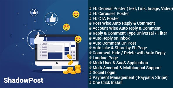 Facebook Auto Reply Plugins, Code & Scripts from CodeCanyon