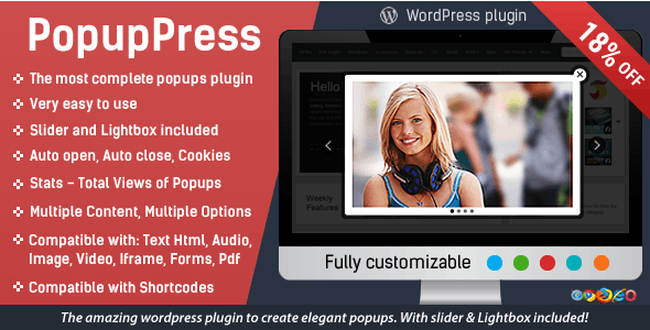 Popup Press - Popups with Slider & Lightbox for WordPress        Nulled