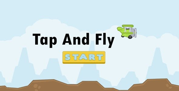 Tap and Fly Moderated Game with More Challenges ( CAPX included )