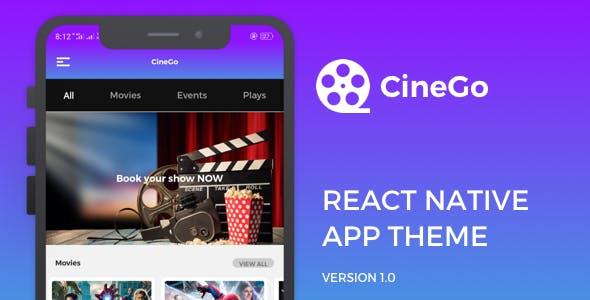 CineGo React Native Theme