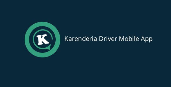 Karenderia Driver Mobile App