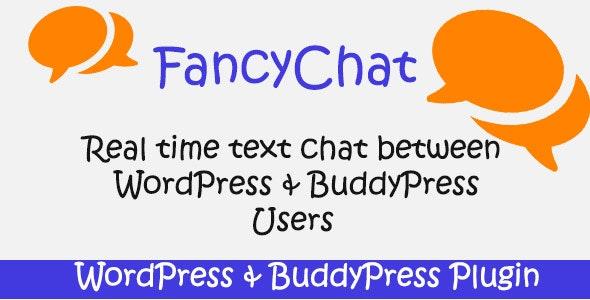 FancyChat - WordPress and BuddyPress Plugin - CodeCanyon Item for Sale
