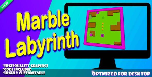 Marble Labyrinth (HTML5).