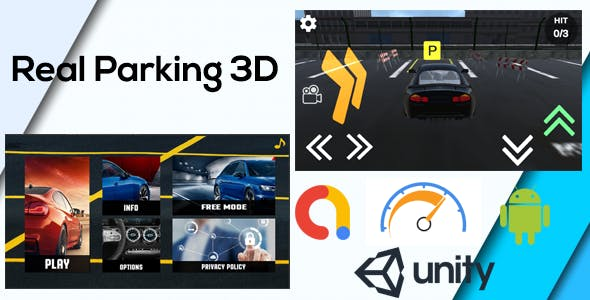 Real Car Parking 3D Game Unity ( Admob - Android - Unity 3D )