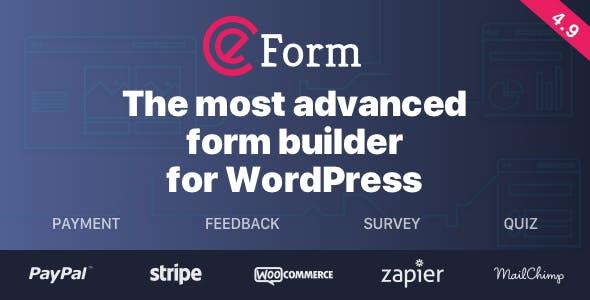 eForm - WordPress Form Builder by WPQuark   CodeCanyon