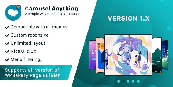 Carousel anything - Addon WPBakery Page Builder (formerly Visual Composer)
