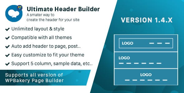 Ultimate Header Builder - Addon WPBakery Page Builder (formerly Visual Composer)