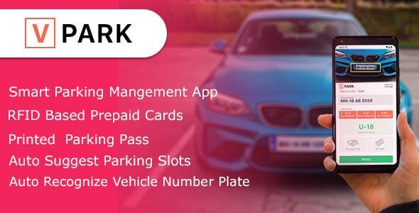 V-Park ( Smart parking managment App )