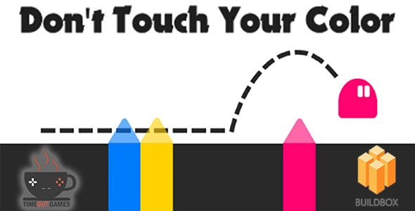 Dont Touch Your Color (Android) - Full Buildbox Game - CodeCanyon Item for Sale