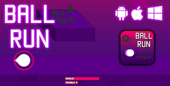 Ball Run - HTML5 Game (CAPX) - CodeCanyon Item for Sale