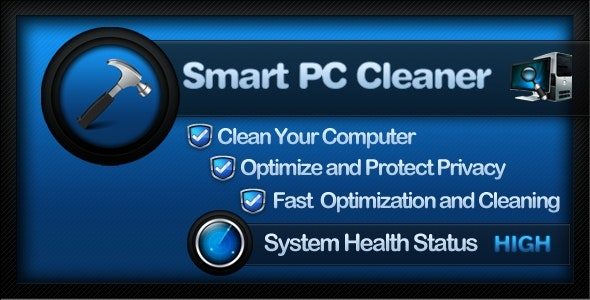 Smart PC Cleaner - Full Source Code - CodeCanyon Item for Sale