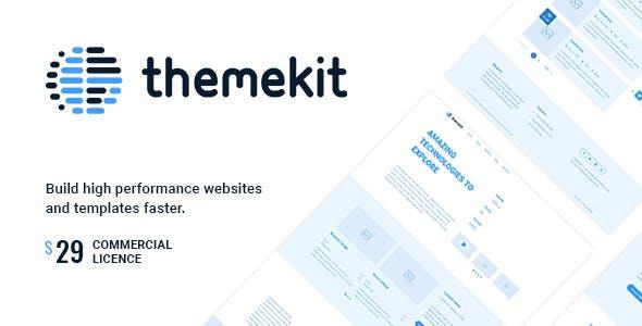 Themekit - Wireframe HTML Framework
