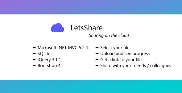 LetsShare - File cloud sharing