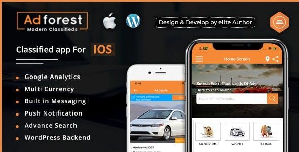 AdForest - Classified Native IOS App
