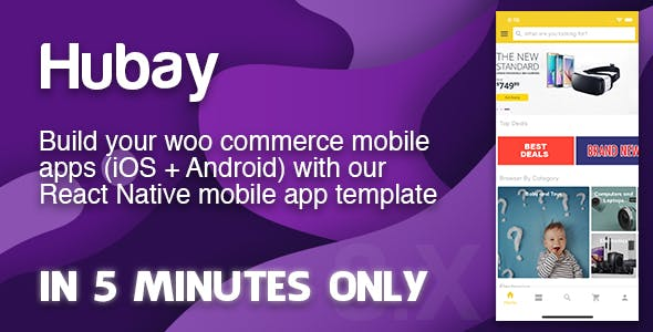 The Complete React Native eCommerce App (Single or Multivendor WooCommerce Stores)