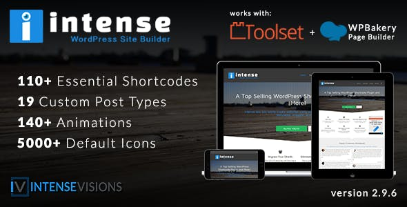 Intense - Shortcodes and Site Builder for WordPress        Nulled